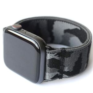 Nomich Black Camo Apple Watch Stretch Band